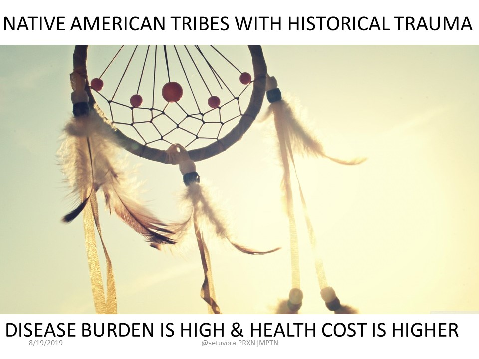 Native American Tribes with Historical Trauma